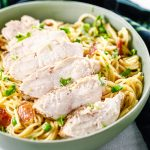 Chicken Bacon Carbonara