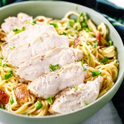 Chicken Bacon Carbonara