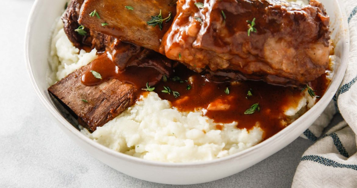 Dutch Oven Braised Short Ribs