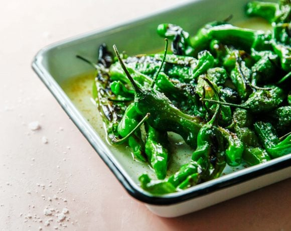 Blistered Brown Butter Shishito Peppers