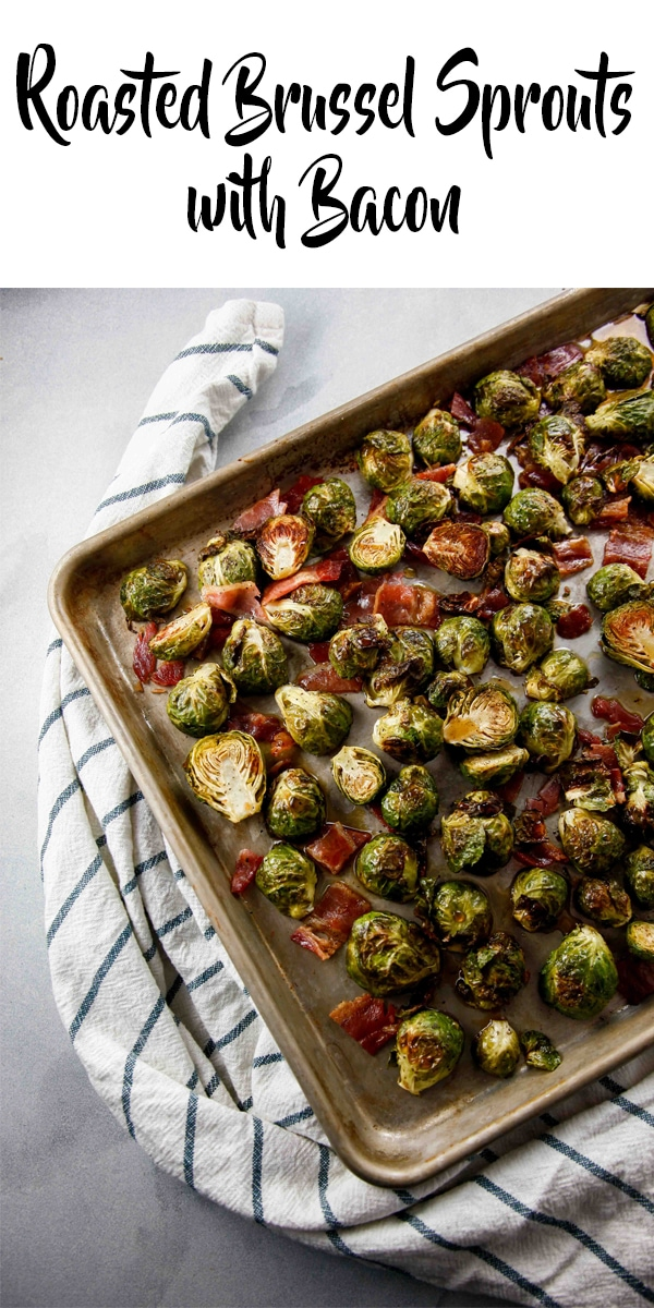 This recipe for Roasted Brussel Sprouts with bacon is easily the best by far. Quick and delicious, brussel sprouts will become your favorite vegetable!