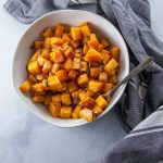 maple brown butter roasted butternut squash