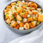Roasted Root Vegetables with Brown Butter Sauce