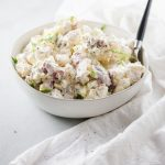 A bowl of Creamy Potato Salad