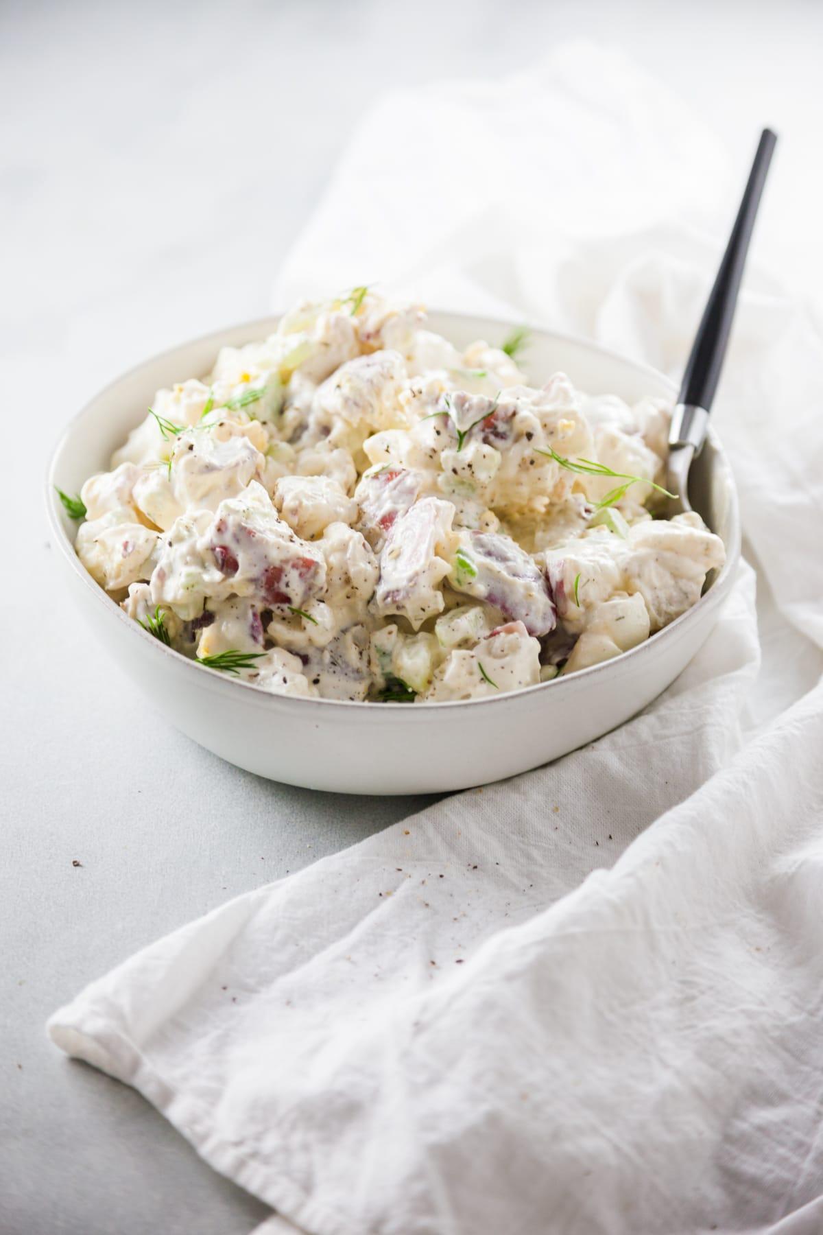 Cold Creamy Potato Salad Recipe