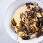Roasted Mushrooms and Creamy Polenta
