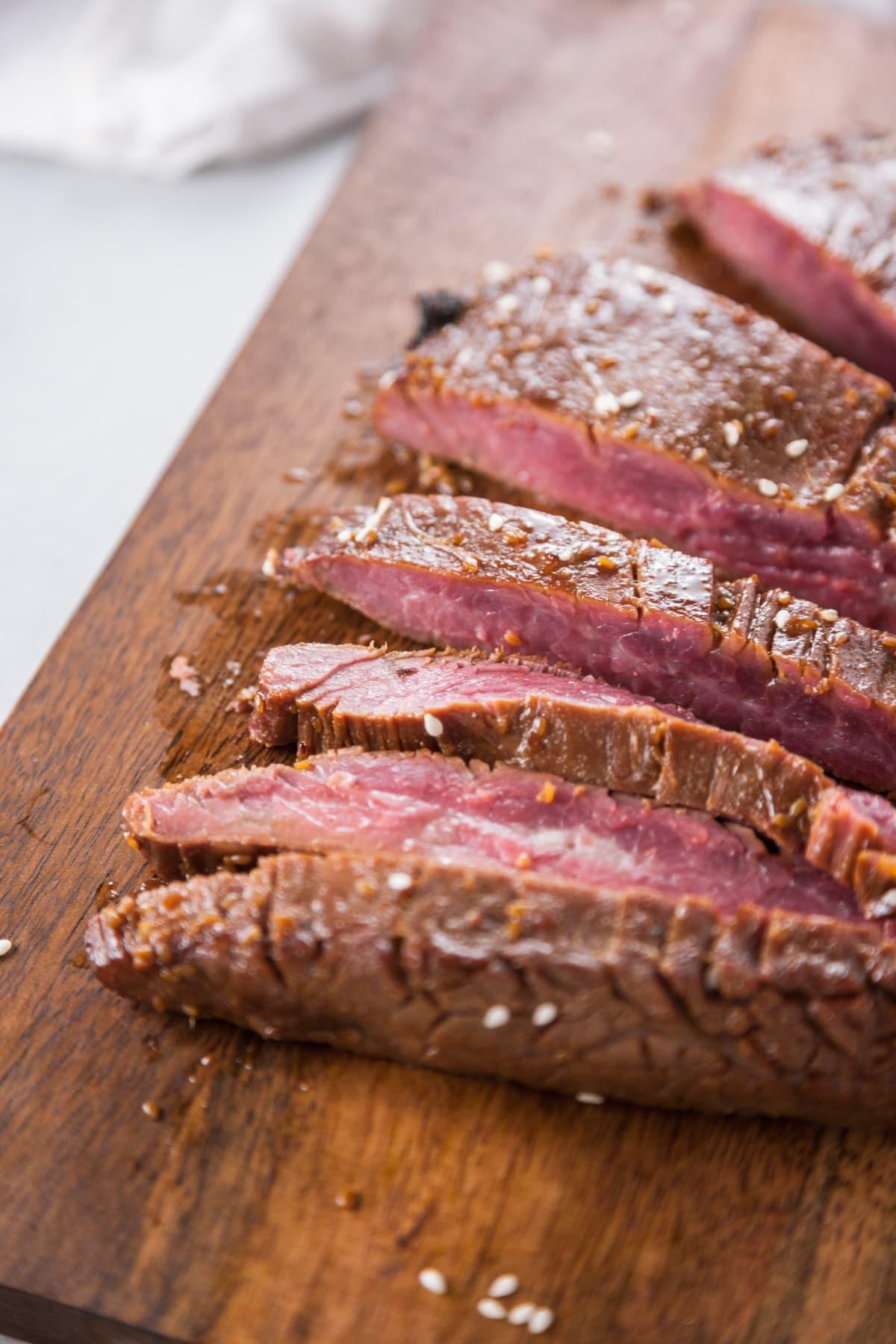 Teriyaki Marinated Flank Steak