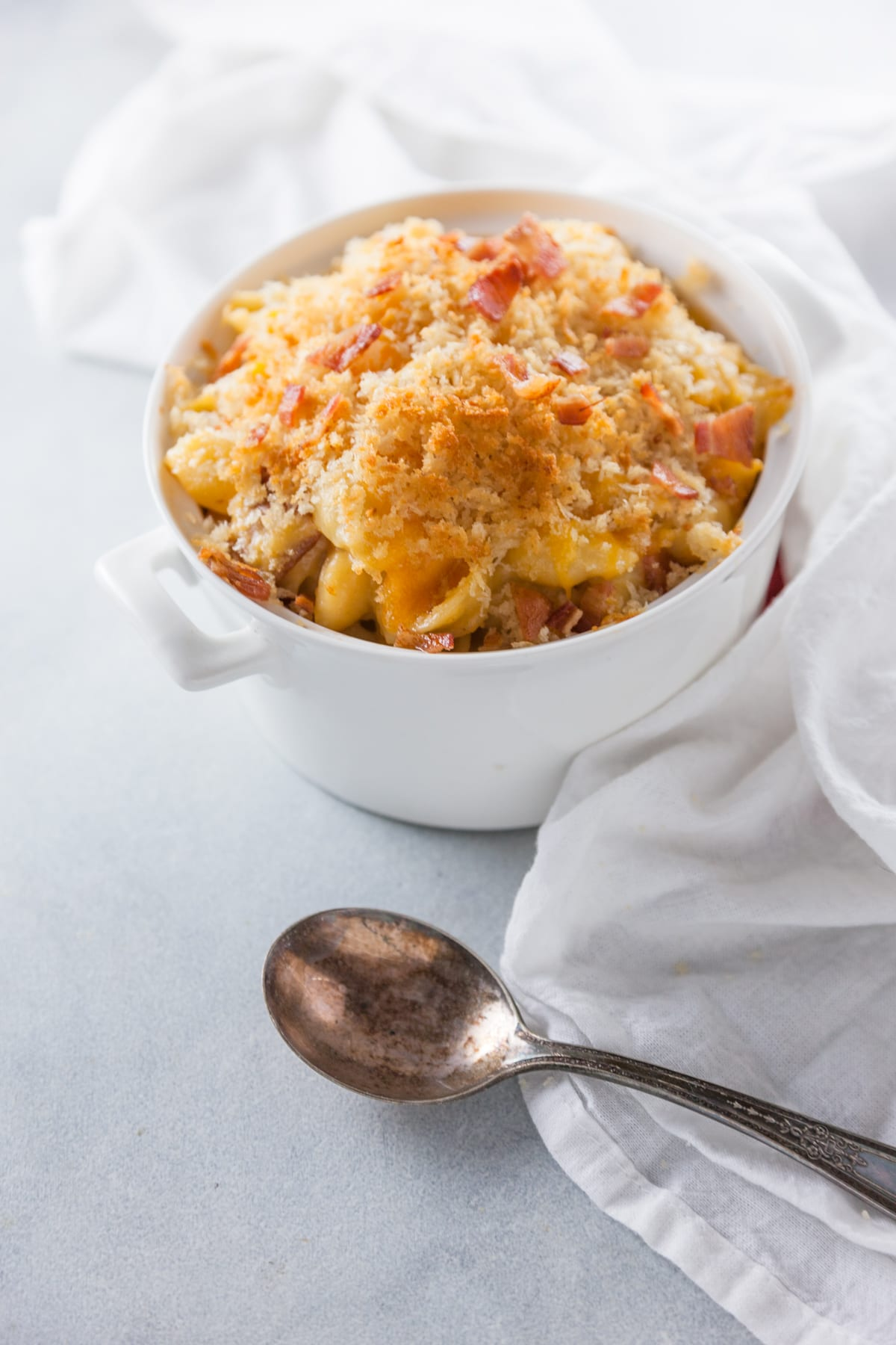 Baked Bacon Mac and Cheese