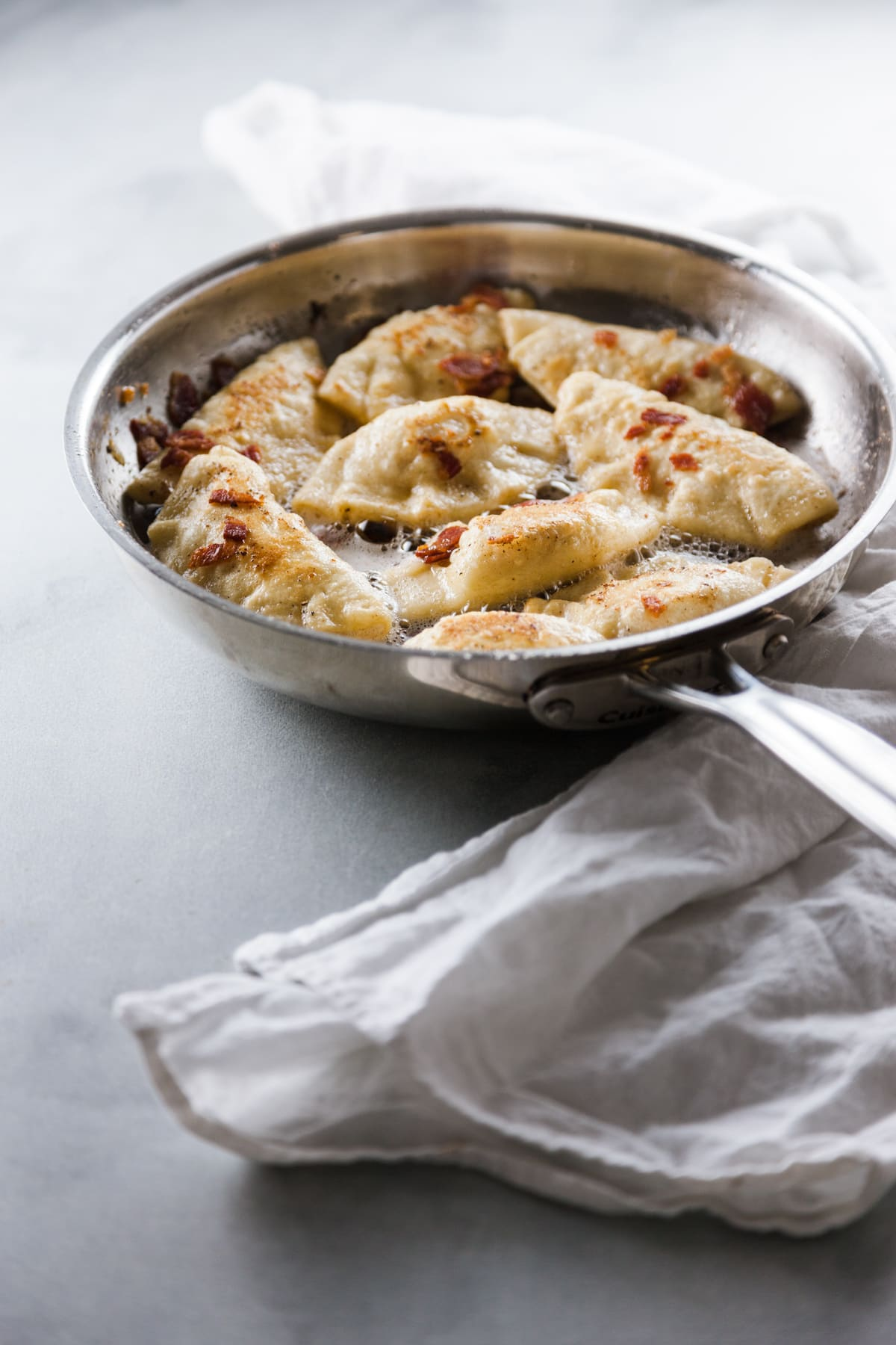 Potato and Bacon Pierogi