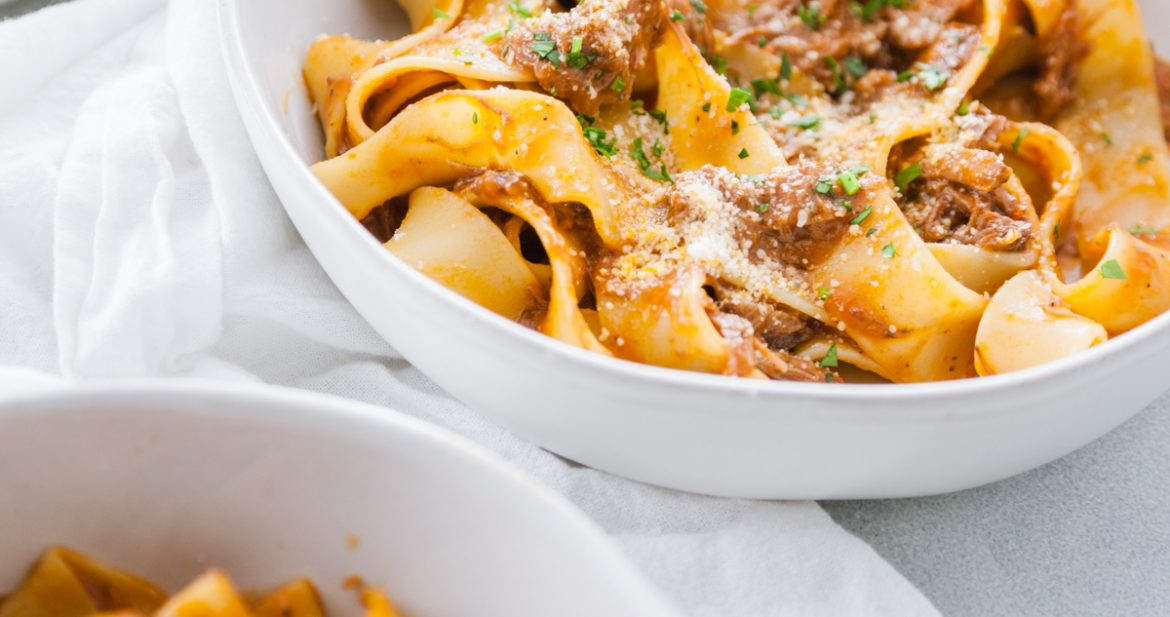 Short Rib Ragu and Pappardelle