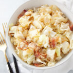 Southern Fried Cabbage and Bacon pinterest image