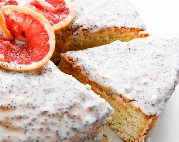 Grapefruit Poppyseed Cake