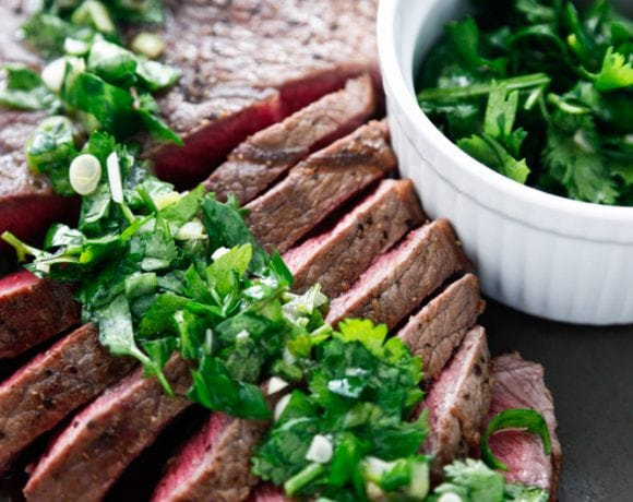 London Broil Chimichurri