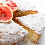 Pinterest image for Grapefruit Poppyseed Cake