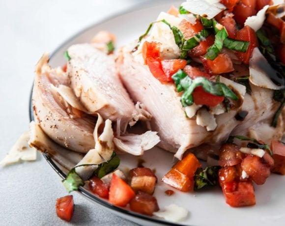 Bruschetta Baked Chicken