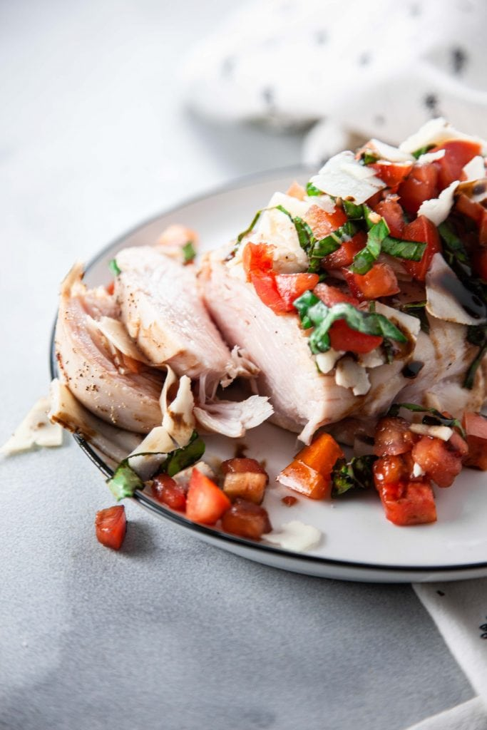 Bruschetta Baked Chicken