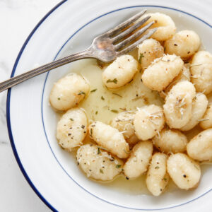 category image for vegetarian friendly, image for brown butter gnocchi